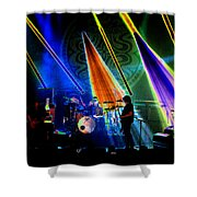 Mule #13 Enhanced Image Shower Curtain