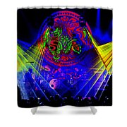 Mule #14 Enhanced Image Shower Curtain
