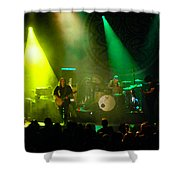 Mule #7 Enhanced Image Shower Curtain
