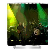 Mule #8 Enhanced Image Shower Curtain