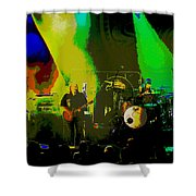 Mule #8 Psychedically Enhanced Image Shower Curtain