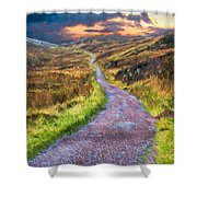 Mull Of Kintyre Shower Curtain