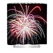 4th Of July Fireworks 8 Shower Curtain