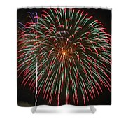 4th Of July Fireworks 16 Shower Curtain