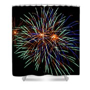 4th Of July Fireworks 22 Shower Curtain