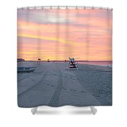 Multi Color Skies - Cape May New Jersey Shower Curtain