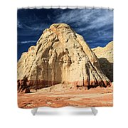 Multi-colored Mound Shower Curtain