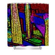 Multi Sensation Colors Shower Curtain