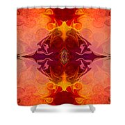 Multilayered Realities Abstract Pattern Artwork By Omaste Witkow Shower Curtain