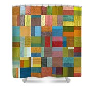 Multiple Exposures Ll Shower Curtain