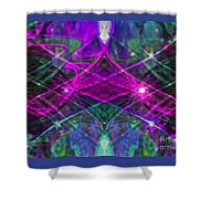 Multiplicity Universe 2 Shower Curtain by Chris Anderson