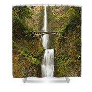 Multnomah Falls 2 B Shower Curtain