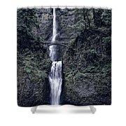 Multnomah Falls - Columbia Gorge - Oregon State Shower Curtain