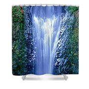 Multnomah Falls Columbia River Gorge Oregon Shower Curtain