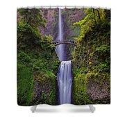 Multnomah Falls - Columbia River Gorge - Oregon Shower Curtain