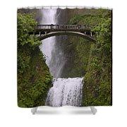 Multnomah Falls Oregon Shower Curtain by Gary Grayson