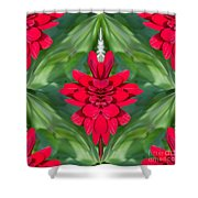Mum Abstract B Square Shower Curtain