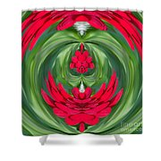 Mum Abstract C Square Shower Curtain