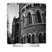 Mumbai University Bw Shower Curtain