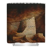 Mummy Cave  Shower Curtain