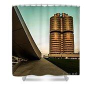munich - BMW office - vintage Shower Curtain