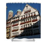 Munich City Shower Curtain