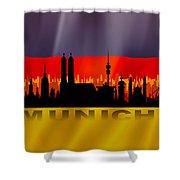 Munich City Shower Curtain