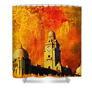 Municipal Corporation Karachi Shower Curtain