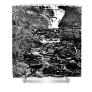 Munising Fall B And W Wash Shower Curtain