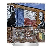 Mural And Graffiti Shower Curtain