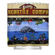 Mural Bandon Mercantile Company Shower Curtain