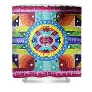 Mural Painting By H101 Shower Curtain