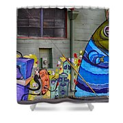 Mural - Wall Art Shower Curtain
