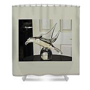 Murano Eagle Shower Curtain