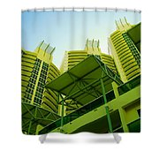 Murano Grande, Miami II Shower Curtain