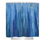 Murky Waters  Shower Curtain