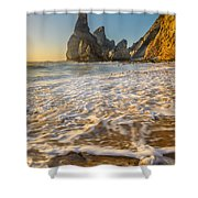 Murmur Of The Pebbles Shower Curtain