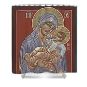 Murom Icon Of The Mother Of God 230 Shower Curtain