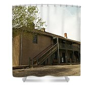Murphy Store Lincoln City New Mexico   Shower Curtain by Jeff Swan