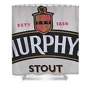 Murphy's Stout Shower Curtain