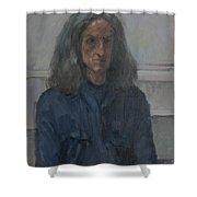 Murray, 2008 Oil On Canvas Shower Curtain