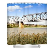 Murray Bridge Shower Curtain