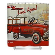 Murray Fire Truck Shower Curtain