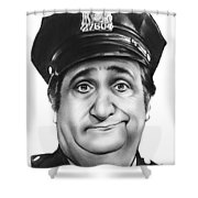Murray The Cop Shower Curtain