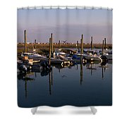 Murrels Inlet South Carolina Shower Curtain