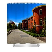Murrow Hall - Washington State University Shower Curtain