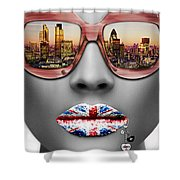 Musa London Shower Curtain