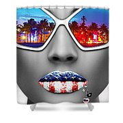 Musa Miami Shower Curtain
