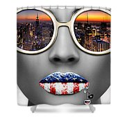 Musa New York Shower Curtain