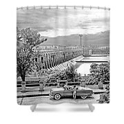 Muscle Shoals Shower Curtain by Chuck Staley